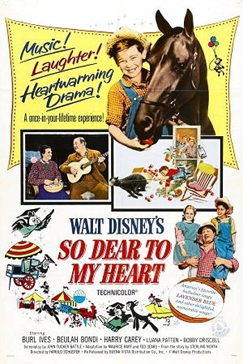 So Dear To My Heart Original Release Poster