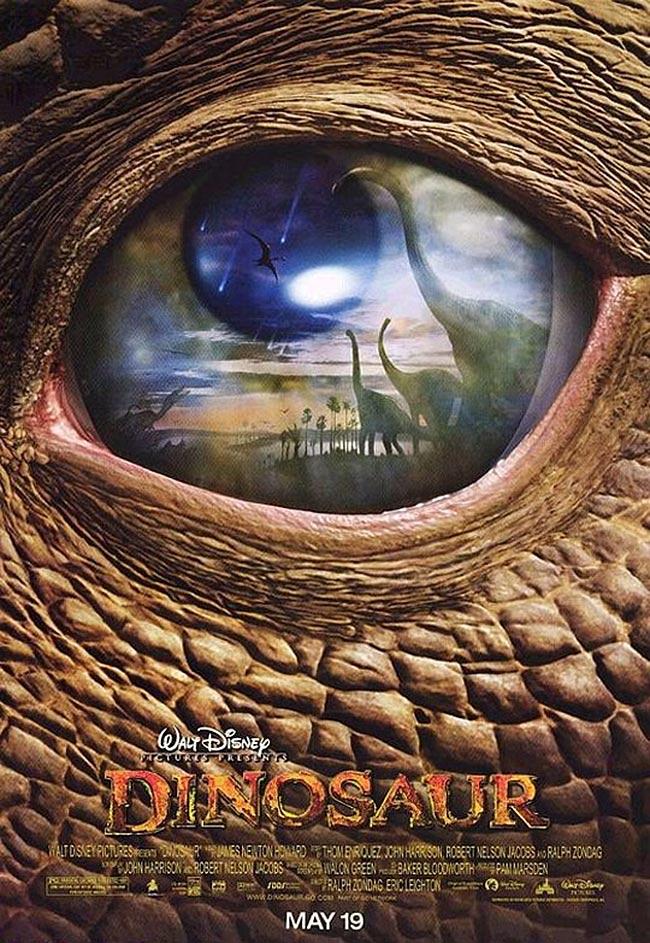 Dinosaur Release Poster
