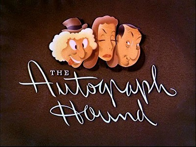 <i>The Autograph Hound</i> Title Card