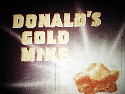 <i>Donald's Gold Mine</i> Title Card