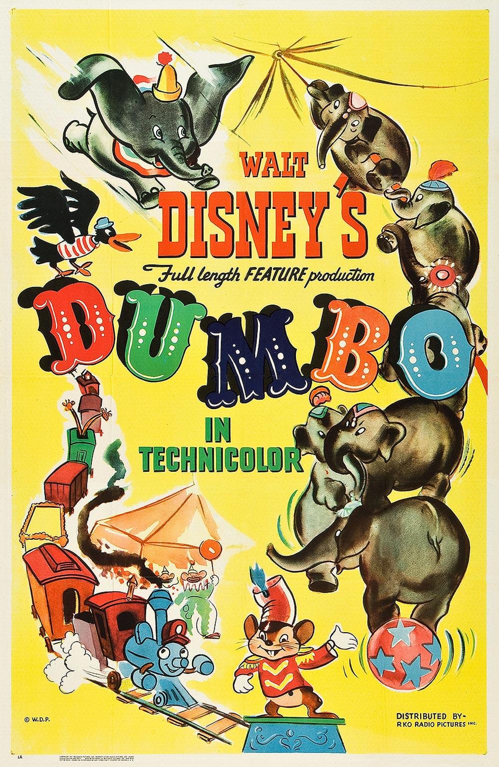 Dumbo Original Release Poster