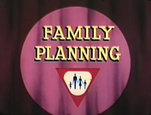 Family Planning Title Card