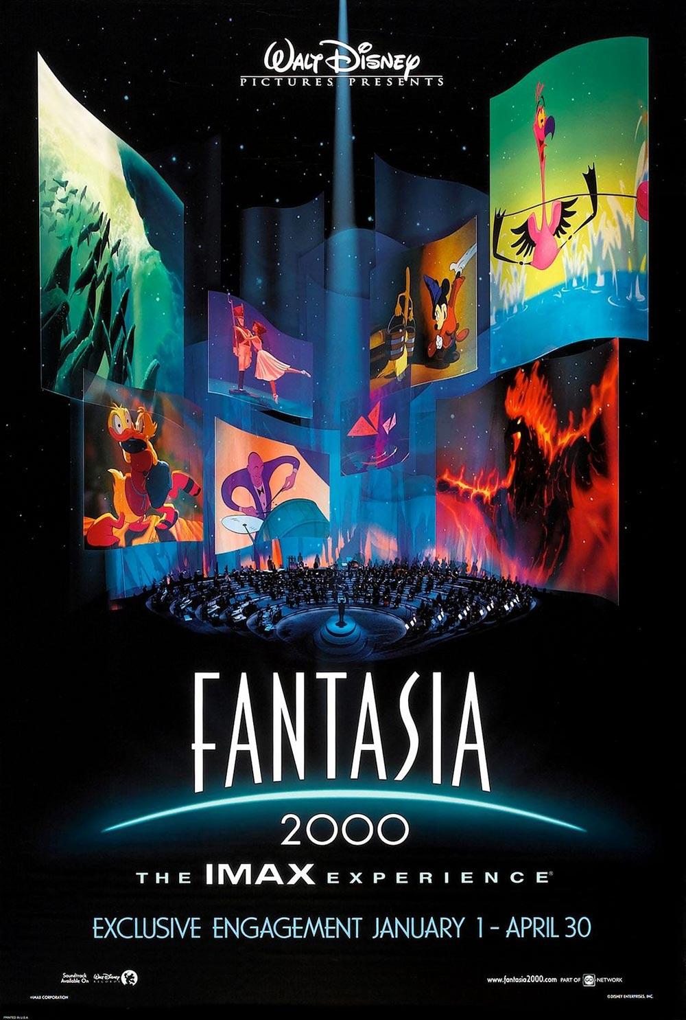 Fantasia 2000 Original IMAX Release Poster
