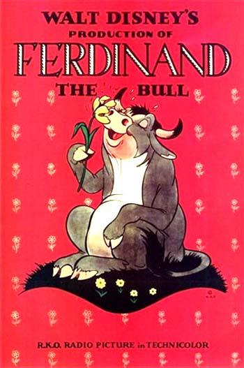 Ferdinand The Bull Original Release Poster