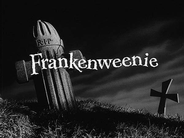 <i>Frankenweenie</i> Title Card