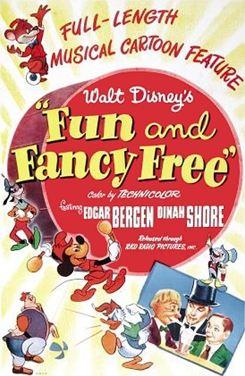 Fun & Fancy Free Original Release Poster