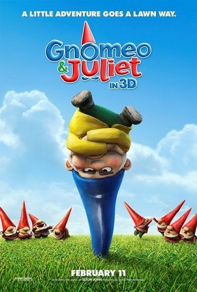 Gnomeo & Juliet Pre-Release Poster