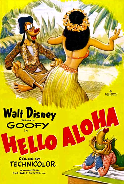 Hello Aloha Release Poster