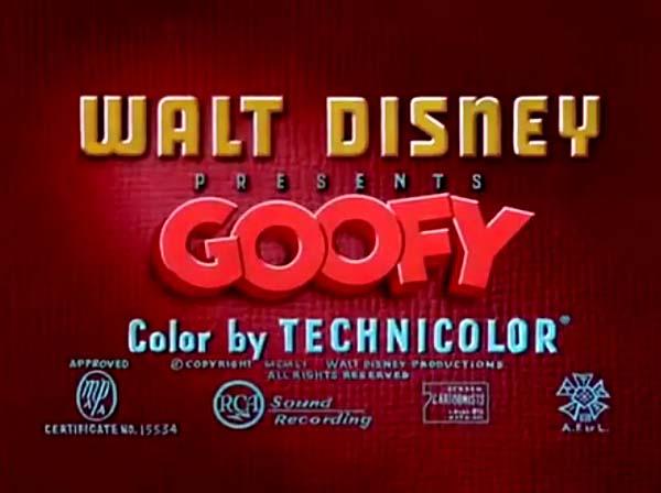<i>Goofy</i> Series Title Card
