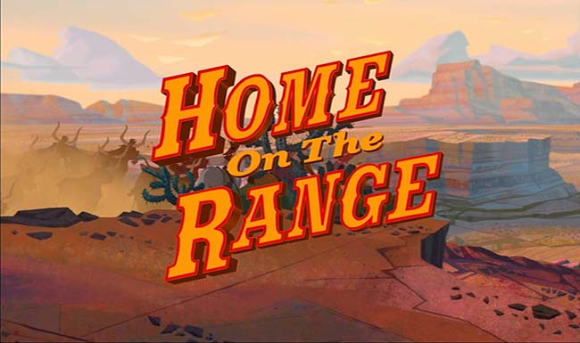 <i>Home On The Range</i> Title Card