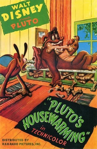 Pluto's Housewarming Original Release Poster