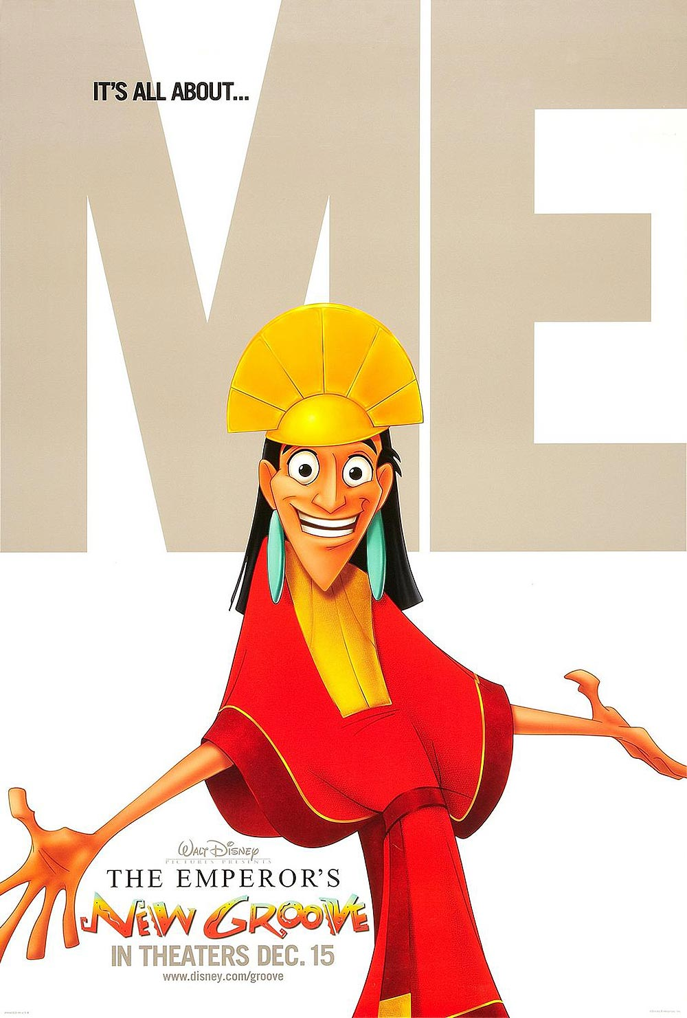 The Emperor's New Groove Advance Poster