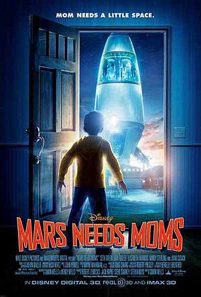 'Mars Needs Moms' Original Poster