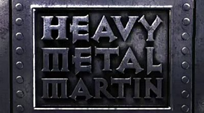<i>Heavy Metal Mater Television Episode</i> Title Card