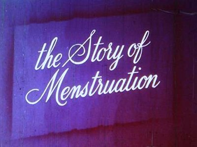 The Story Of Menstruation Title Card