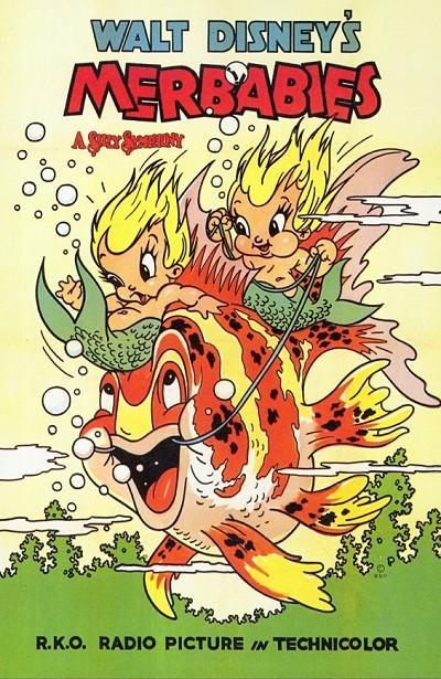 Merbabies Original Release Poster