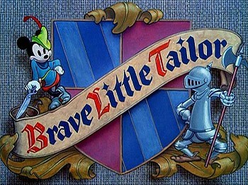 <i>Brave Little Tailor</i> Title Card
