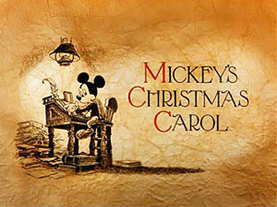 <i>Mickey's Christmas Carol</i> Title Card