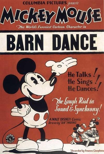 Barn Dance Original Release Poster
