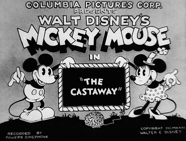 The Castaway Original Title Card