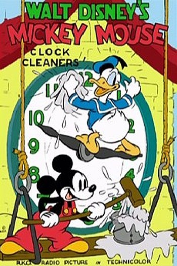 Clock Cleaners Original Poster