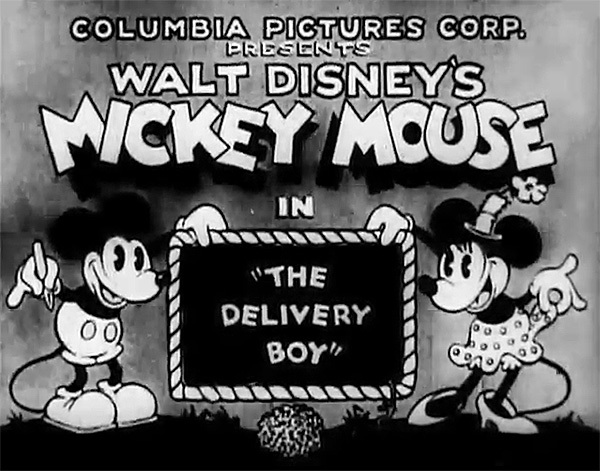 'The Delivery Boy' Original Title Card