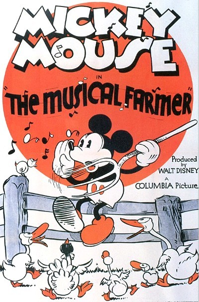 'Musical Farmer' Original Release Poster