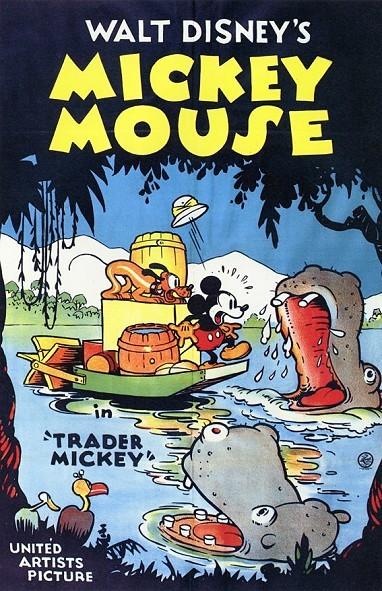 Trader Mickey Original Release Poster
