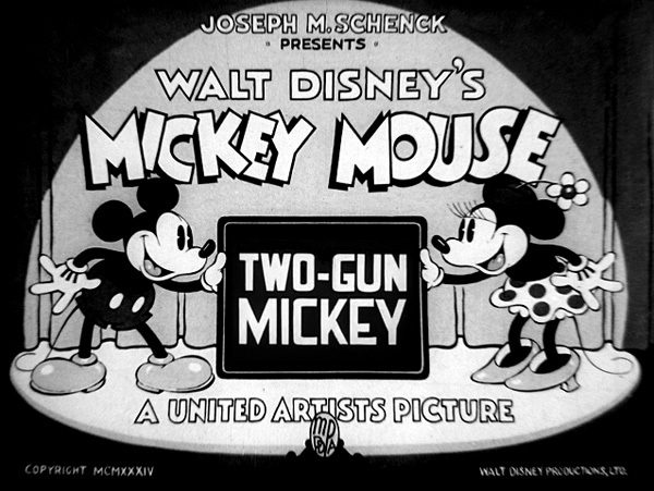 Two-Gun Mickey Original Title Card