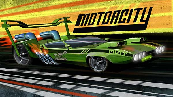 'Motorcity Television' Series Title Card