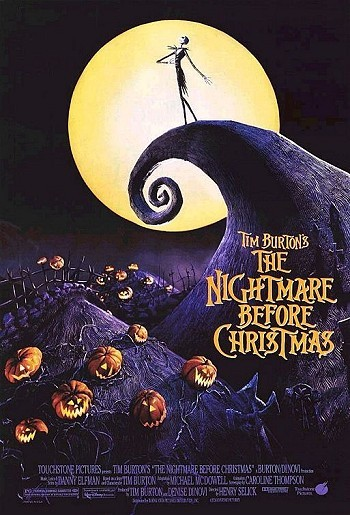 The Nightmare Before Christmas Original Release Poster