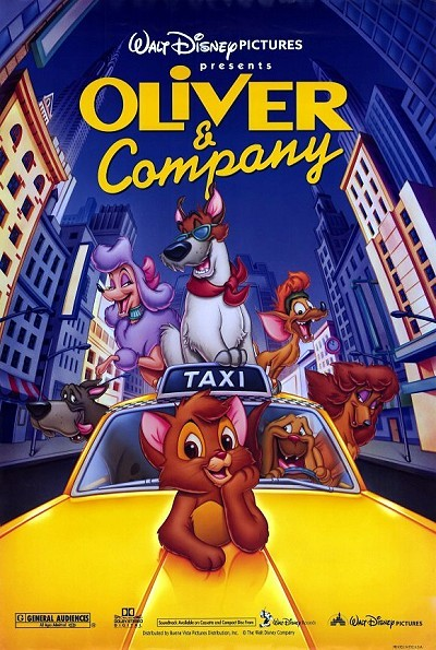 Oliver & Company Original Release Poster (Style A)