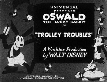 'Trolley Troubles' Title Card