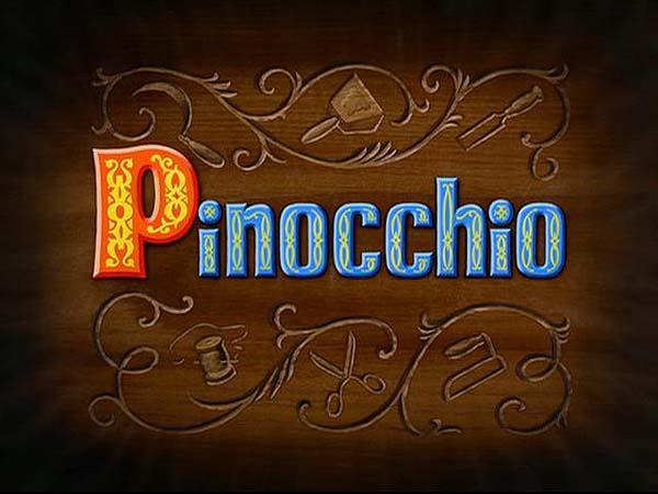 <i>Pinocchio</i> Title Card