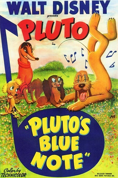 Pluto's Blue Note Original Release Poster