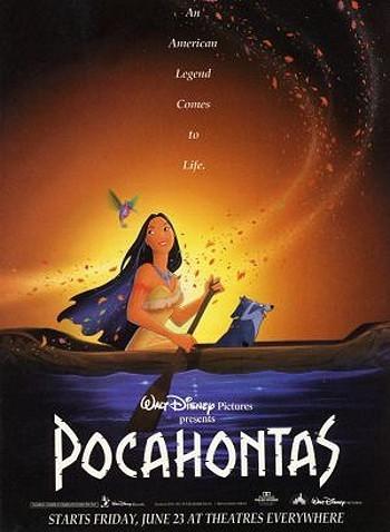 Pocahontas Pre-Release Poster