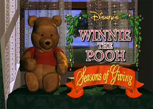 'Winnie The Pooh: Seasons Of Giving' Title Card
