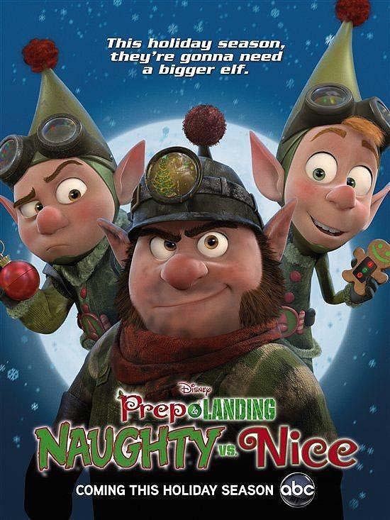 Prep & Landing: Naughty vs. Nice Promotional Poster