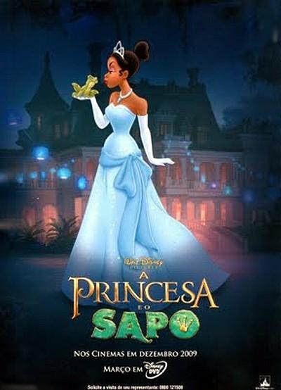 Spanish Pre-Release Poster (A Princesa Y O Sapo)