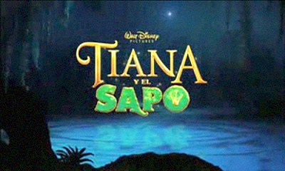 Spanish Title Card (Tiana Y El Sapo)