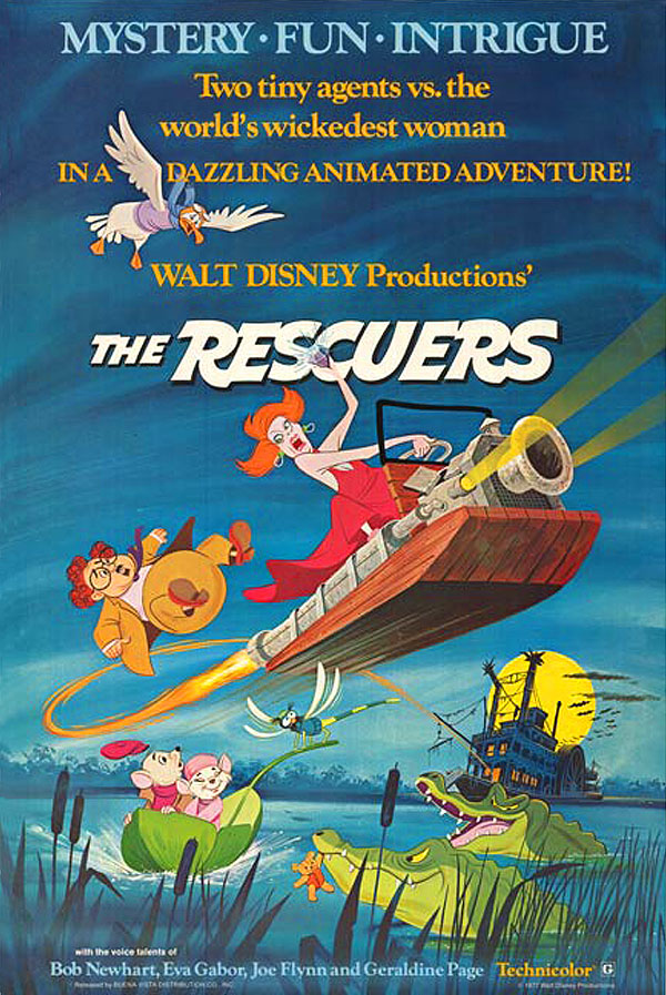 The Rescuers Original Release Poster