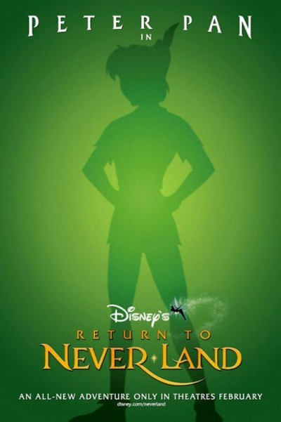 Return To Never Land Original Advance Poster