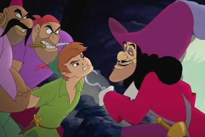 Captain Hook and Peter Pan