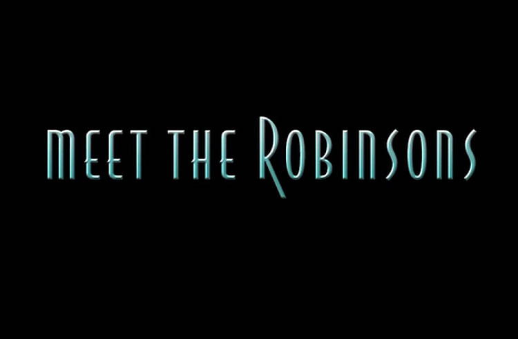<i>Meet The Robinsons</i> Title Card