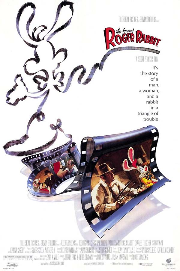 Who Framed Roger Rabbit Original Advance Poster