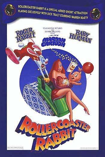 Rollercoaster Rabbit Original Release Poster
