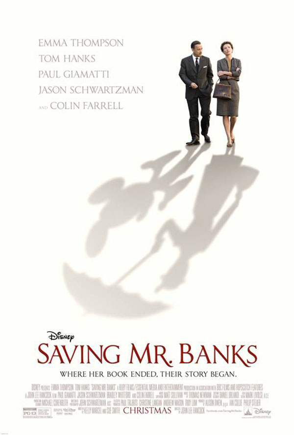'Saving Mr. Banks' Preview Poster