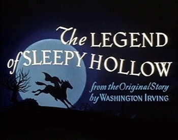 The Legend Of Sleepy Hollow Title Card
