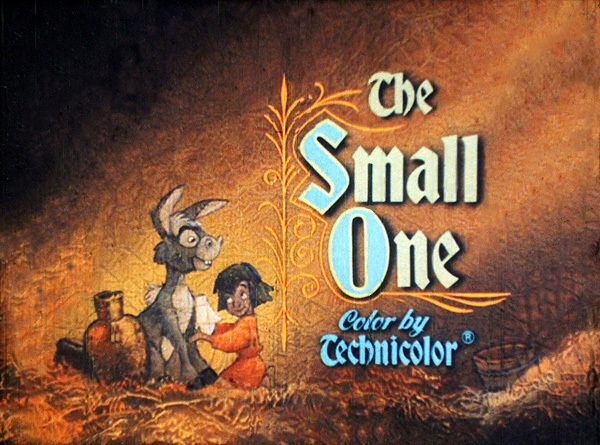<i>The Small One</i> Title Card