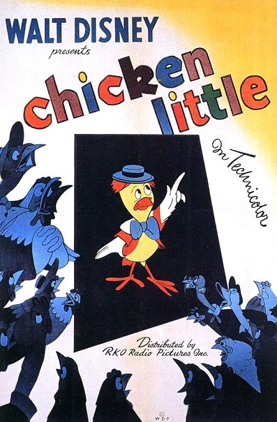 Chicken Little Original Release Poster